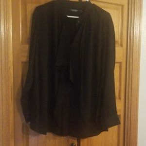Ralph Lauren blouse with drape